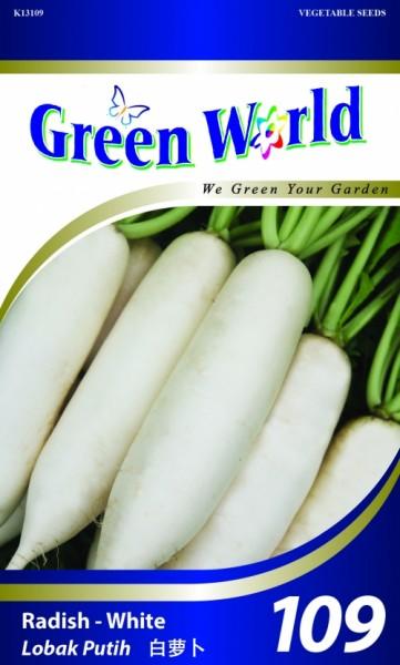 GW109 Radish - White1