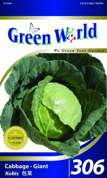 GW306 Cabbage - Giant1